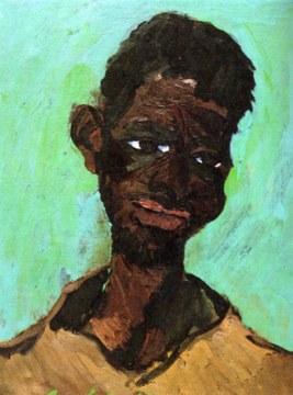Giovane povero, 1967, olio su tela, cm 61x46