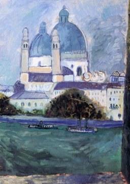 Venezia. La salute dalla Giudecca, 1949, olio su tela 100x70