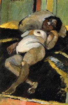 il grande ventre di negra, 1975, olio su tela, cm 146x114
