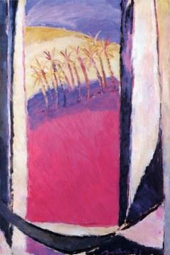 palmeto 1971, olio su tela, cm 146x97