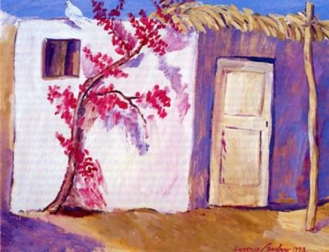 marocco felice, 1998, olio su tela, cm 114x146
