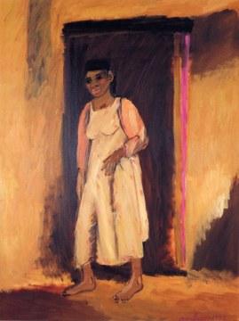 porte noire, 1992, olio su tela, cm 200x150
