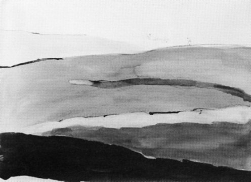 shara, 1993, china su carta, cm 56,5x76