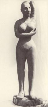 Venere nera, 1996, Legno Iroko, cm 230x47x45